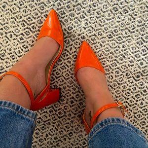 Loslandifen Orange Pumps